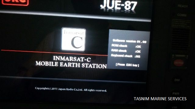 JUE-87 Inmarsat-C