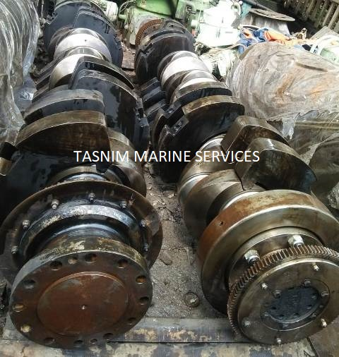 MAN B&W 6L28/32H Crankshaft